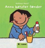 anna børster tænder - bog