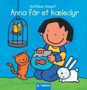 anna får et kæledyr - bog