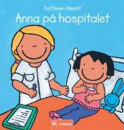 anna på hospitalet - bog