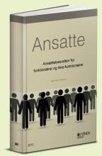 ansatte - ansættelsesretten for funktionærer og ikke-funktionærer - bog