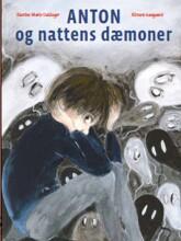 anton og nattens dæmoner - bog