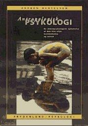 antropologisk psykologi - bog