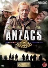 anzacs - tv-serie fra 1985 - DVD