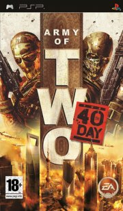 army of two: the 40th day (essentials) - psp
