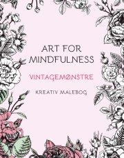 art for mindfulness vintagemønstre - bog