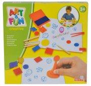 art & fun stempel sæt - Kreativitet