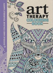 art therapy colouring book - bog