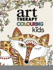 malebog - art therapy colouring til børn (softcover) - Kreativitet