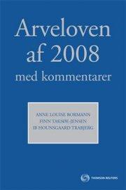 arveloven af 2008 med kommentarer - bog