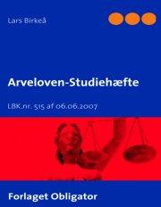 arveloven - studiehæfte - bog