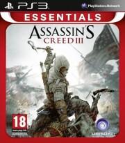 assassin's creed iii (essentials) - PS3