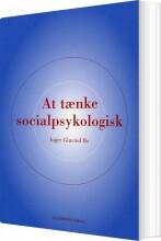 at tænke socialpsykologisk - bog