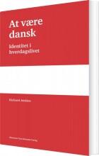 at være dansk - bog