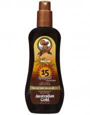 australian gold solcreme - spray gel with instant bronzer spf15 237 ml - Hudpleje