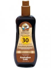 australian gold solcreme - spray gel with instant bronzer spf30 237 ml - Hudpleje