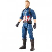 avengers figurer - titan hero: captain america - 30 cm. - Figurer