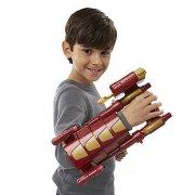 avengers - captain america rustning med nerf pile - Legetøjsvåben
