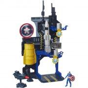 avengers - face off playset - captain america (b6739) - Figurer