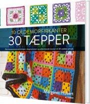 10 oldemorfirkanter 30 tæpper - bog