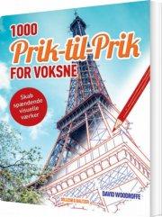 1000 prik til prik for voksne - bog