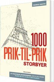 1000 prik-til-prik - storbyer - bog