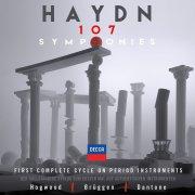 j. haydn - 107 symphonies - limited 35 cd boks - cd