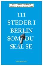 111 steder i berlin som du skal se - bog
