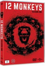 12 monkeys - sæson 1 - DVD