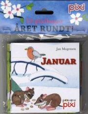 12 pixibøger - året rundt - bog