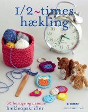 1/2-times hækling - bog
