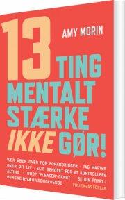 13 ting mentalt stærke ikke gør! - bog