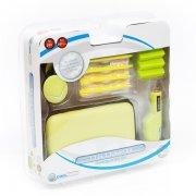 nintendo ds tilbehør pakke - 13 in 1 travel kit til nds lite og dsi - grøn - Konsoller Og Tilbehør