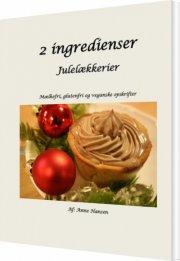 2 ingredienser - julelækkerier - bog