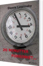 20 minutter forsinket? - bog