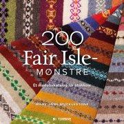 200 fair isle-mønstre - bog