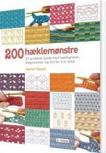 200 hæklemønstre - bog