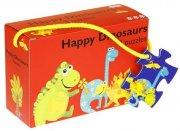 dinosaur puslespil - 3 stk. - Brætspil