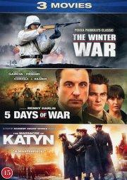 the winter war // 5 days of war // katyn - DVD