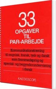 33 opgaver til par-arbejde - bog