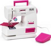 4-girlz - zig-zag symaskine til børn med fodpedal - Rolleleg