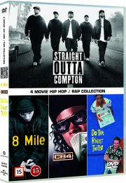 straight outta compton / 8 mile / cb4 / do the right thing - DVD
