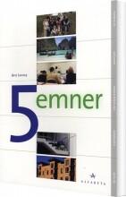 5 emner - bog