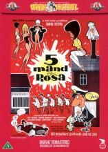 5 mand og rosa / fem mand og rosa - DVD