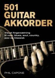 501 guitarakkorder - bog