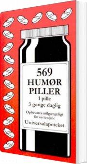 569 humørpiller - bog