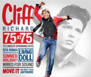 cliff richard - 75 at 75 - 75 career spanning hits - cd