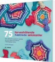 75 farvestra?lende hæklede sekskanter - bog