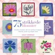 75 strikkede blomster - bog
