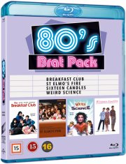 the breakfast club // st. elmo's fire // sixteen candles // weird science - Blu-Ray