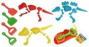 sandsæt - skovl / rive / dinosaur forme - Bade Og Strandlegetøj
